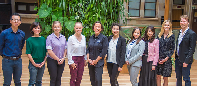 Low Harm Hedonism Initiative team in UQ's Global Change Institute building