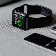 digital watch with health app