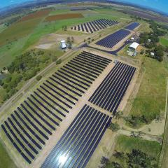 UQ solar farm at Gatton