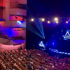Interior of Brisbane Concert Hall, QPAC, 2019