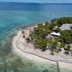 Fiji aerial of resort